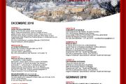 Eventi Dicembre 2018- Gennaio 2019